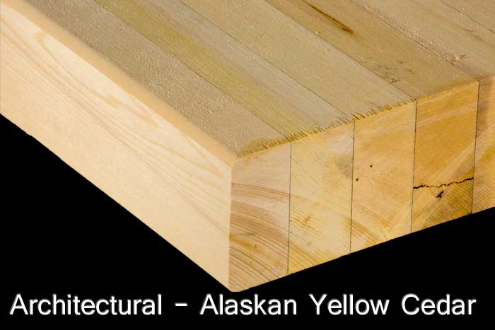Architectural - Alaskan Yellow Cedar