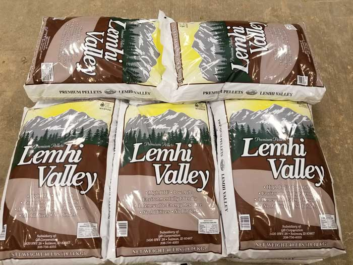 Lemhi Valley Wood Pellets